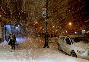 Снежная буря в США повлекла за собой ущерб в $100 млн