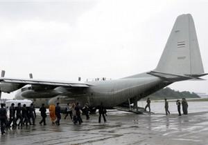 В Казахстане совершил аварийную посадку военный самолет США