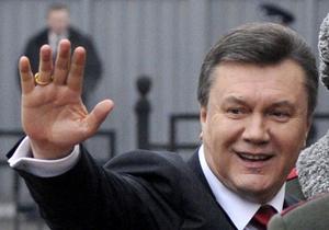 СМИ: Янукович прибыл в Карпаты встречать Новый год