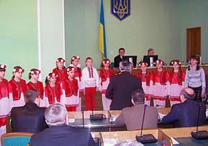 Херсонский губернатор обеспокоен тем, что депутаты не поют Гимн Украины