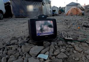 В США воры не смогли унести украденный телевизор
