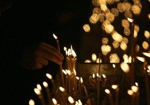 Азаров и Попов приняли участие в рождественском богослужении в Киево-Печерской Лавре