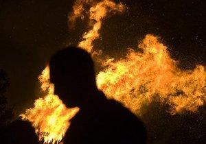 В Киеве произошел пожар на складе новогодних украшений