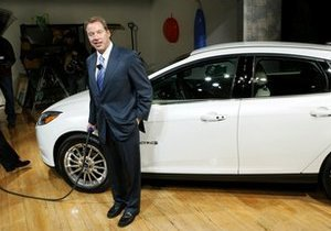 Компания Ford Motor представила свой первый электромобиль