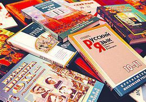 Украинские учебники в 2010 году печатались в основном на русском языке