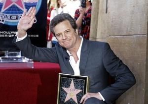 Колин Ферт получил звезду на Аллее славы в Голливуде
