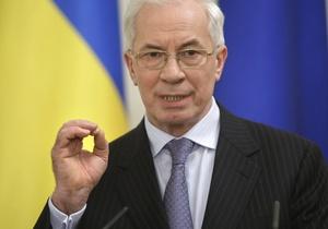 Азаров объяснил причину роста цен на бензин