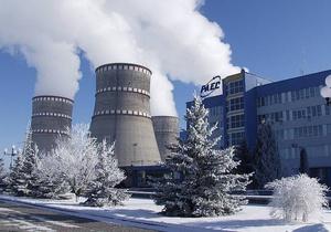 Турбогенератор первого энергоблока РАЭС отключился из-за микротрещины