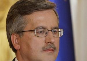 Есть за что критиковать: Президент Польши считает односторонним отчет о катастрофе под Смоленском