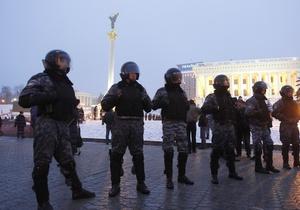 День Соборности в Киеве: милиция задействует свыше 2000 правоохранителей