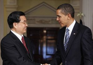 Ху Цзиньтао: Китай не будет участвовать в гонке вооружений