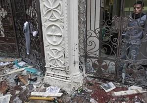Египет назвал предполагаемых виновников взрыва в христианской церкви