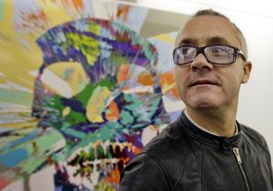 Участники экономического форума в Давосе создадут картины вместе с Дэмиеном Херстом