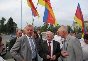 Ъ: Левоцентристы объединяются в Українську демократичну лiвицю