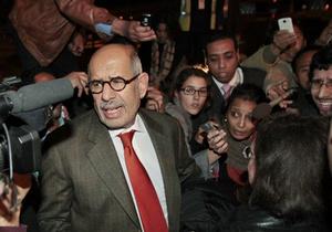 Египетский оппозиционер Эль-Барадеи взят под домашний арест