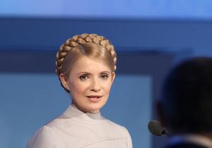 Тимошенко передала Януковичу книгу