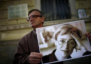 Следствие по делу об убийстве Политковской продлено до мая