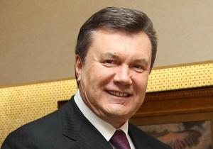 Янукович встретился с Марией Матиос
