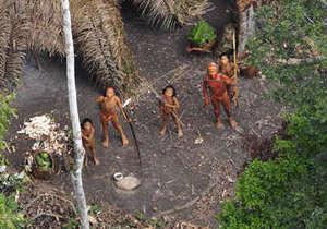 В Бразилии обнаружено неизвестное науке племя