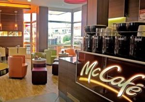 В Киеве откроется первое McCafe