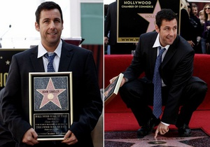 Адам Сэндлер получил звезду на Аллее славы в Голливуде