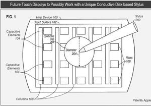 Apple запатентовала стилус для планшета iPad