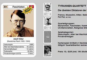 На немецкой выставке игрушек полиция изъяла карты с Гитлером