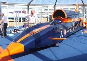 Британцы приступили к изготовлению самого быстрого авто в мире