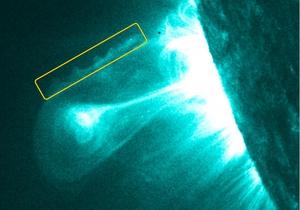 Космический спутник сфотографировал солнечные облака