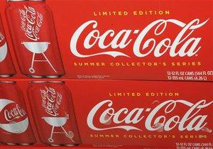 Coca-Cola в 2010 году увеличила чистую прибыль более чем в полтора раза