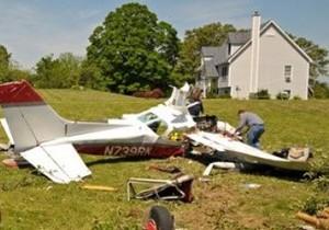 В Сиднее упал одномоторный самолет: экипаж выжил
