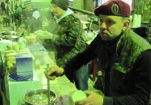 Ежель снова отправит солдат на кухню