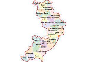 Матвийчук хочет изменить карту Одесской области: из 26 районов останется 17