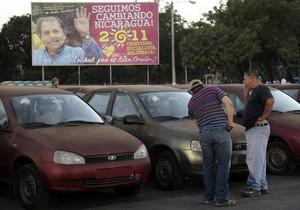Президент Никарагуа передал таксистам 450 автомобилей Lada Kalina