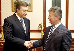 Онопенко встретился с Януковичем