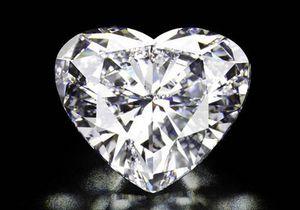 Christie's выставит на торги бриллиант в форме сердца
