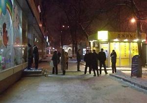 В Киеве грабители стреляли в продавщиц ювелирного магазина