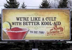 Американский ресторан в рекламе обыграл массовое самоубийство сектантов в 1978 году