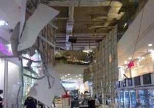 В торговом центре Sky Mall рухнул потолок