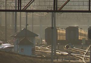 В Днепропетровской области водитель ВАЗ уснул на железнодорожном переезде