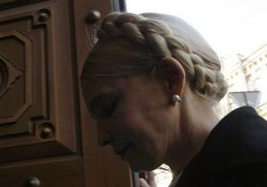 Тимошенко выдвинули окончательное обвинение