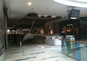 Дело: Рухнувший в SkyMall потолок обойдется страховщикам в 5 млн гривен
