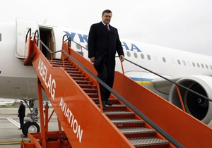 На питание в самолетах первых лиц Украины выделили 2,6 миллиона гривен