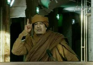 Каддафи выразил соболезнования в связи с гибелью ливийцев