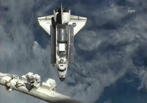 Шаттл Discovery в последний раз пристыковался к МКС