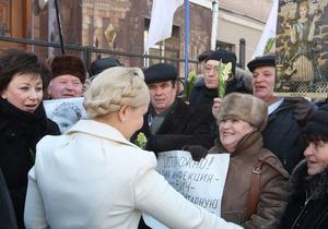 Тимошенко: Надеюсь, что хотя бы к маме меня отпустят