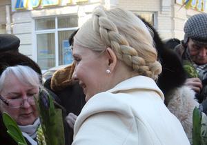 Тимошенко разрешили съездить к маме на праздники