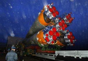 В Казахстане приземлился космический корабль Союз с тремя космонавтами на борту