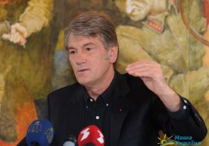 Gazeta Wyborcza: Украину охватила депрессия. Интервью Ющенко