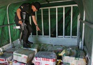 Албанская полиция конфисковала 200 кг кокаина, растворенного в масле